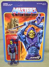 "SKELETOR Masters of the Universe ReAction Funko Super7 3.75"" Figure Color"