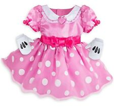 NWT Disney Store Baby Girl's Minnie Mouse Deluxe Costume Size 6-12 Months