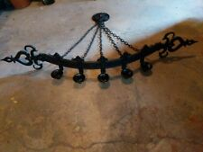 Vintage Gothic Style Wall Candelabra for Five Candles