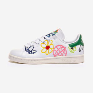 Adidas Stan Smith W - White Green / FX5653 / Womens Shoes Sneakers