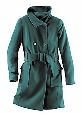 Buffalo London Petrol Blue / Green, Warm Coat. Sz 8. RRP £69  NWT
