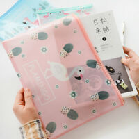 Bolso de documentos Flamingo Bolsas de carpetas de archivos de malla escolar v