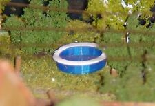 Spur HO | Aufstellpool | Swimmingpool  | Pool | Schwimmbad | Bausatz 1:87 rund