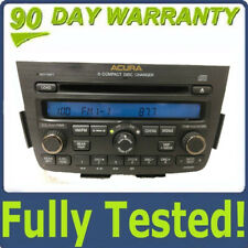 05 06 Acura MDX 6 CD player radio with DVD option rear entertainment w/ CODE