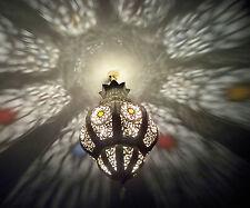 Lustre plafonnier marocain fer forgé lampe applique lanterne oriental 50 cm 2