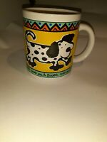 Mulberry Home Collection Dog and Bone Coffee Mug Cup