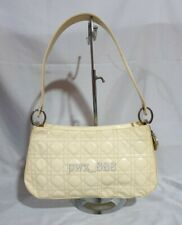 CHRISTIAN DIOR Lady Dior Patent Leather Cannage Shoulder Bag