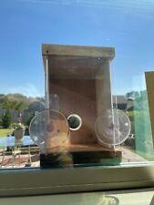~Bird Nesting Window Birdhouse~ w/2-Suction Cups Window Mount~Vintage~