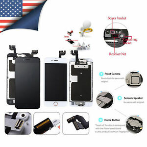 Complete LCD Touch Screen Digitizer Lens For iPhone 6 6S 7 8 X XR MAX 11 PRO LOT