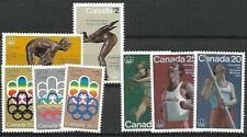 CANADA OLYMPIC STAMP SOUVENIR COLLECTION & BOOK VOLUME I