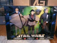 "Star Wars Action Collection 12"" Luke Skywalker Princesse Leia Han Solo ROTJ poupées"