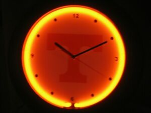 NCAA Tennessee Volunteers Round Wall Clock