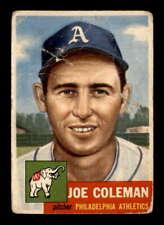 1953 Topps #279 Joe Coleman DP F X1948914