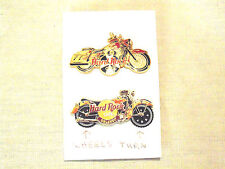 Hard Rock Cafe Malta & Orlando Motorcycle Lapel Pins HRC Collectibles
