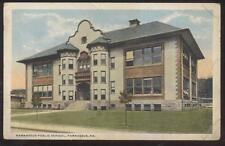 Postcard PARNASSUS Pennsylvania/PA  Public School Campus Building view 1910's