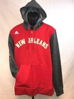 New Orleans Pelicans Mens M-L-XL-2XL-3XL +2 On Court Pre Game Jacket Hoodie $100