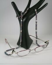 Peacock & White Freshwater Pearl Spectacle Holder