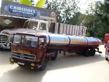 MERCEDES BENZ LPS 1932 Camion Semi Remorque Citerne Transports L. GIRAUD 1/43