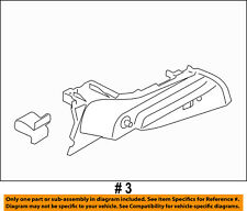 FORD OEM 11-18 Fiesta Interior-Rear-Panel Support Right AE8Z5846808AB