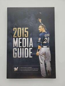 MILWAUKEE BREWERS MLB BASEBALL MEDIA GUIDE 2015 MINT