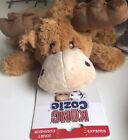 Kong Cozie Medium Marvin Moose Indoor Cuddle Squeaky Plush Dog Toy Medium Dogs