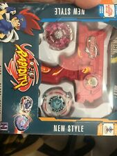 Gift Fusion Metal Master Fight Rapidity 4D Beyblade Hybrid Launcher Set Kid Toy