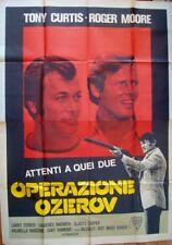PERSUADERS OPERATION OZEROV Italian 4F movie poster ROGER MOORE TONY CURTIS