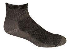 Merino Wool Hiking 1/4 Socks (Pack of 3) - Made in USA