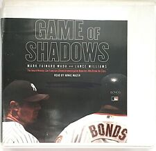 Game of Shadows Barry Bonds Audiobook 5 CDs 6 Hrs Abridged Ex Library Case