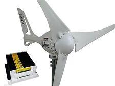 Set generatore eolico + regolatore di carica 24V/500W turbina bianca i-500