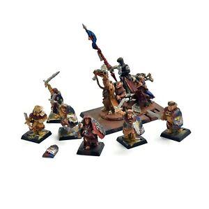 BRETONNIA Grail Reliquae with pilgrims #1 METAL Painted Warhammer Fantasy