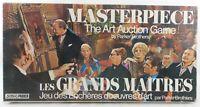 MASTERPIECE 1970 Vtg Art Auction Board Game Parker Bros 100% Complete EXCELLENT!