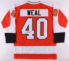 Jordan Weal Signed Flyers Jersey (Beckett Coa) Philadelphia Center