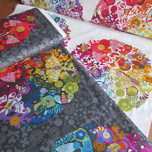 """Alison Glass Ex Libris 100% cotton quilting Art Theory panels - approx 24x44"""""""