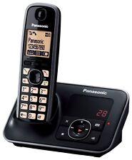 NEW Panasonic KX-TG6621 KX-TG6622 Main Cordless Phone DECT Answer Machine Black