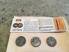 (3) MCDONALDS TOKENS McTREASURE ISLAND VIGNETTE - WITH VHS COUPON VOUCHER