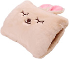 Milkycat Cute Hot Water Bottle with Cover,Portable Rechargeable Electric Hot Wat
