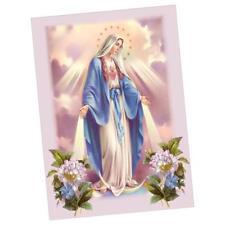 DIY 5D Diamond Embroidery Virgin Mary Painting Cross Stitch Art Craft Decor