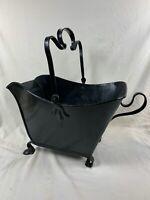 XL Antique Hearth Brass Coal fire Ash Wood Bucket Fireplace Vintage UNIQUE c843