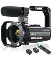 4K 60FPS Video Camera Camcorder Ultra HD 48MP Digital Camera WiFi YouTube