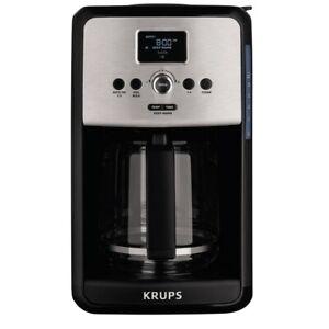 Krups Savoy Turbo 12 Cup Coffee Maker - Black