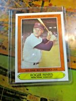 YANKEES 1985 Topps Woolworth's Collectors' Series #24 Roger Maris