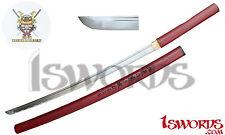 Bishamon Hand Forged Folded High Cabon Steel Samurai Katana Sword Razor Sharp