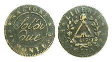 pci0425) TORINO. REPUBBLICA SUB-ALPINA 1800-1802. 2 Soldi A° IX 1801