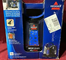 Bissell SpotClean Proheat Handheld Carpet Cleaner 5207U New