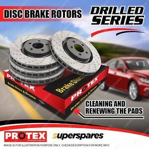 Protex Front + Rear Disc Brake Rotors for Mercedes Benz CLS55 AMG C219