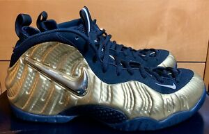 Nike Air Foamposite Pro Metallic Gold Size 14 2017 Black Penny Retro RARE Posite
