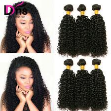 8A Brazilian Kinky Curly Hair 3 Bundles Curly Virgin Hair 100% Human Hair 300g