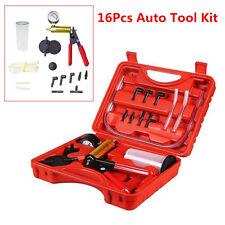 2in1 Hand Held Vacuum Pump Tester & Car Brake Fluid Bleeder Oil Change Tool Kit