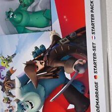 Wii U Disney Infinity Starter Set + 3 chiffres + Portal + Bonus Muenze + Play Se